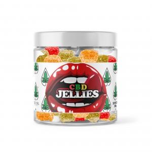 Broad Spectrum CBD Jellies - 10mg EACH - Tub of 30